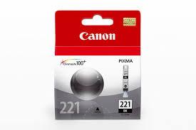 Tinta Canon 221 Negro